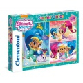 3x48 Elementów Shimmer and Shine