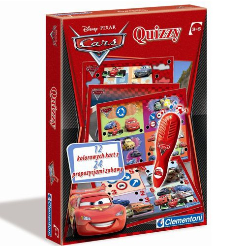 CLEMENTONI Gra Quizzy Cars 2