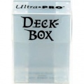 Deck Box - Clear White