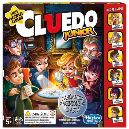 Gra Cluedo Junior