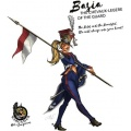 Hot & Dangerous: Basia, the Chevaux-legere of the Guard (54 mm)