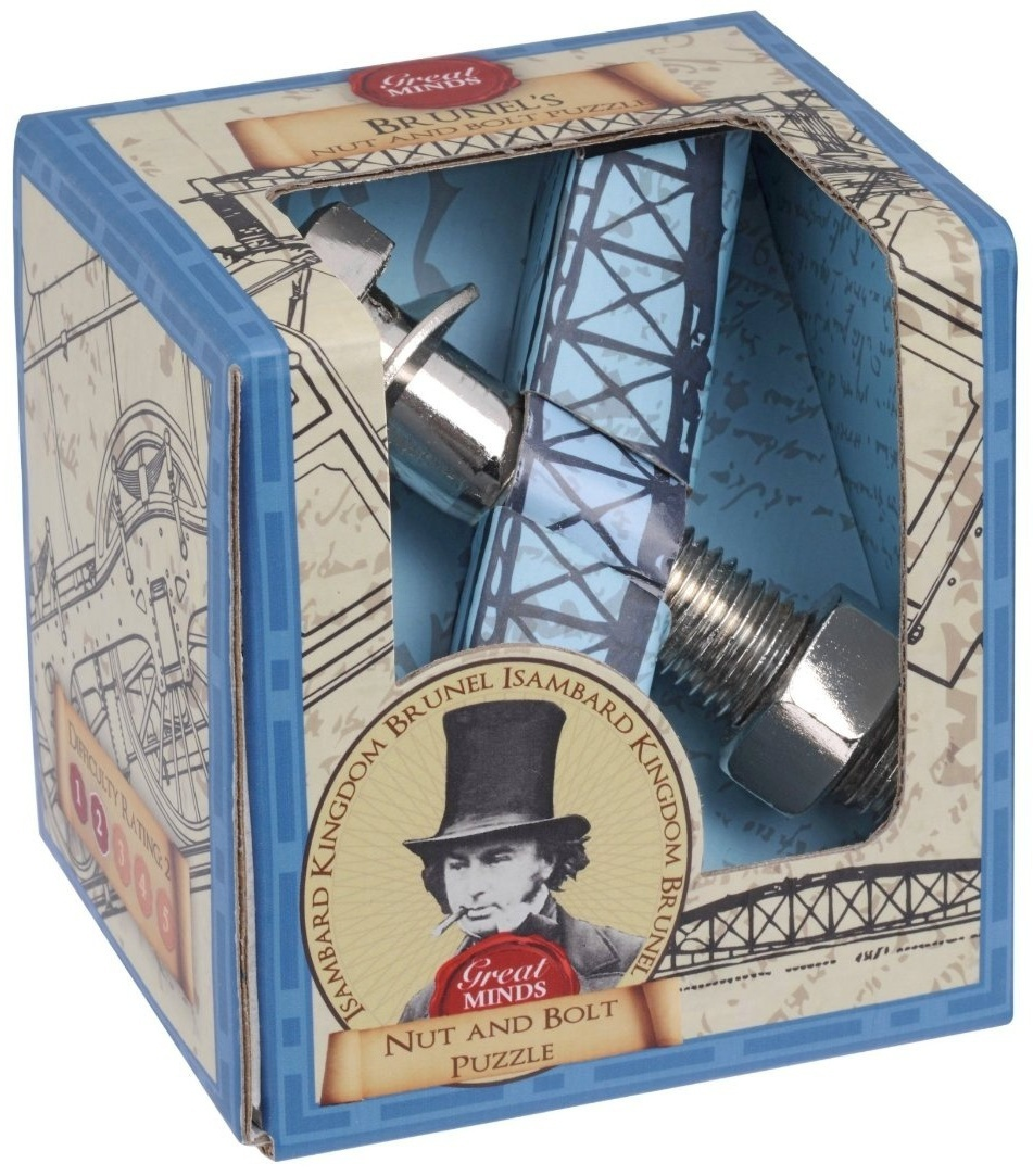 Łamigłówka Great Minds - Brunel\'s Nut and Bolt Puzzle